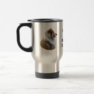 Rough Collie dog portrait photo Coffee Mug