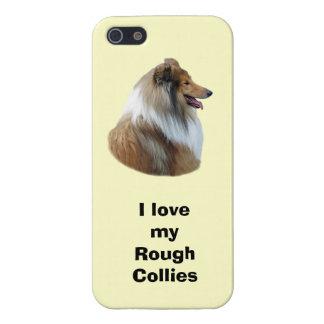 Rough Collie dog portrait photo iPhone 5/5S Cover