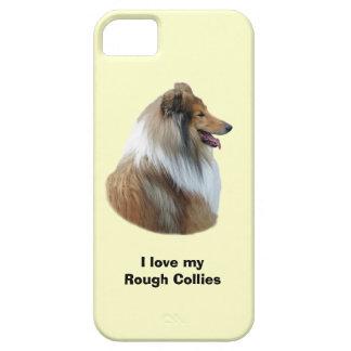 Rough Collie dog portrait photo iPhone 5 Cases