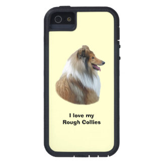 Rough Collie dog portrait photo iPhone 5 Cover