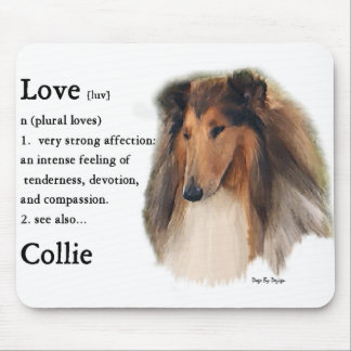 Rough Collie Gifts Mouse Mat
