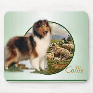 Rough Collie Keeper of the Sheep Mouse Pad