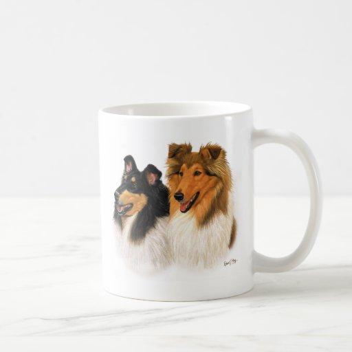 Rough Collie Mugs