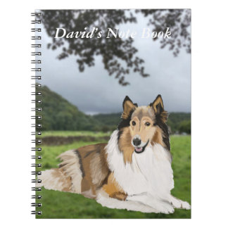 Rough Collie Notebook