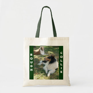 ROUGH COLLIES BUDGET TOTE BAG