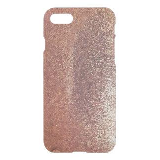 Rough copper iPhone 7 case