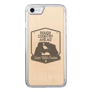 Rough Country Ahead Carved iPhone 8/7 Case