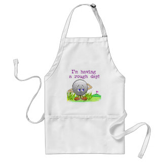 Rough Day Aprons