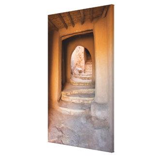 Rough Dirt Staircase Canvas Print
