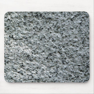 ROUGH GREY STONE MOUSE PAD