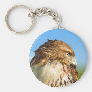 Rough-legged Hawk Keychain