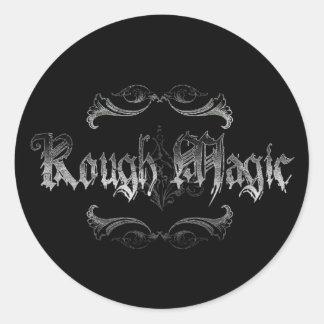 Rough Magic Round Sticker