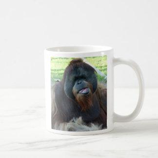 rough morning basic white mug