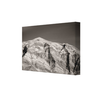 Rough mountains canvas print