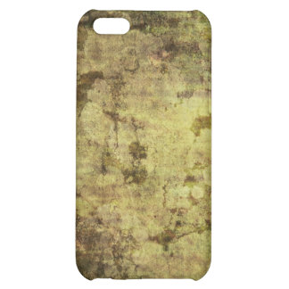 Rough Olive Green Grunge Texture Case For iPhone 5C