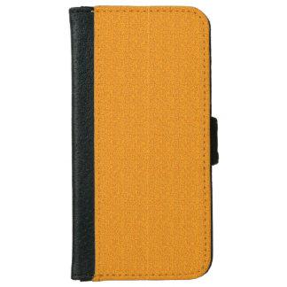 Rough Orange Look iPhone 6 Wallet Case