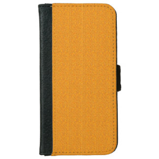 Rough Orange Look iPhone 6 Wallet Case