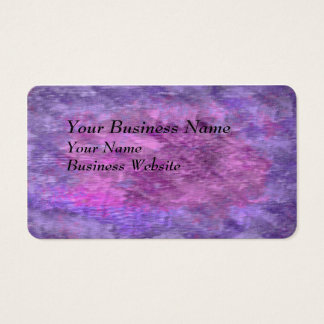 Rough Purple and Pink Texture Business Card