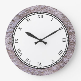 Rough Raw Beton Grey Construction Wall Wallclocks