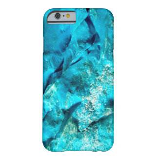 Rough Raw Turquoise Texture Barely There iPhone 6 Case