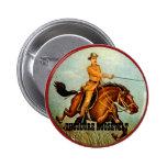 Rough Rider - Button