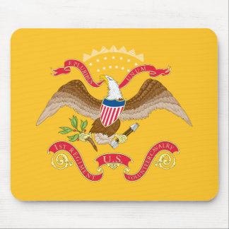 Rough Rider's Flag Mouse Pad
