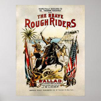 Rough Riders - Print
