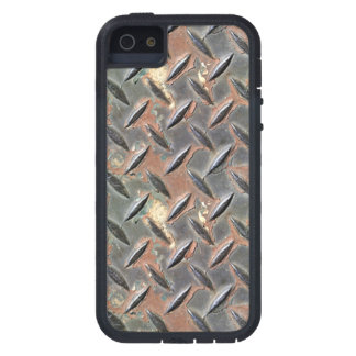 Rough rusted metal design by James Black iPhone 5 Covers
