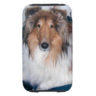 Rough Sable Collie iPhone 3 Case