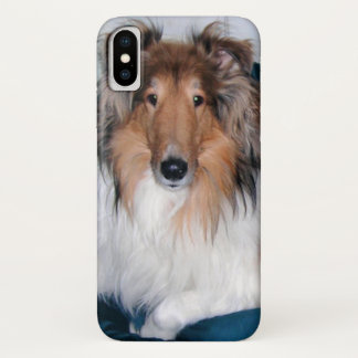 Rough Sable Collie iPhone X Case