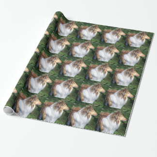 Rough Sable Collie Wrapping Paper