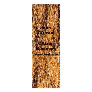 Rough sand texture business card templates