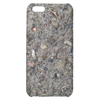 Rough Sand Texture with Dirt Case For iPhone 5C