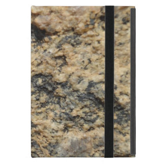 rough sandy stone surface cover for iPad mini