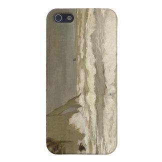 Rough Sea at Etretat - Claude Monet Case For The iPhone 5