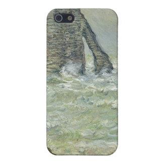 Rough Sea Etretat - Claude Monet iPhone 5 Cover