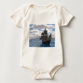 Rough Seas Ahead Baby Bodysuit