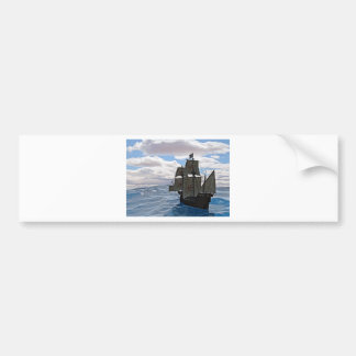 Rough Seas Ahead Bumper Sticker