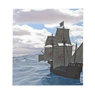 Rough Seas Ahead Notepad