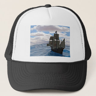 Rough Seas Ahead Trucker Hat