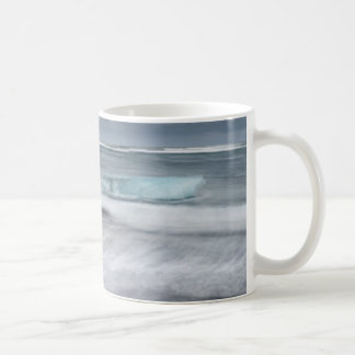 Rough Seascape with ice, iceland Coffee Mug