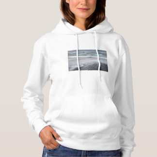 Rough Seascape with ice, iceland Hoodie
