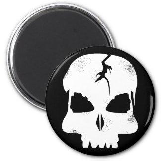Rough Skull Captain Jack's Magnet