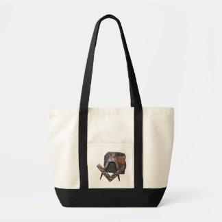 rough stone canvas bag