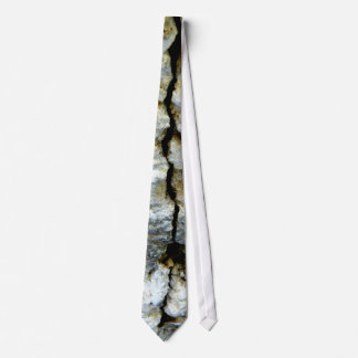 Rough stone with crack tie