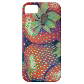 Rough Strawberries iPhone 5 Cover