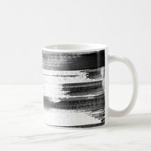 Rough strokes coffee mugs