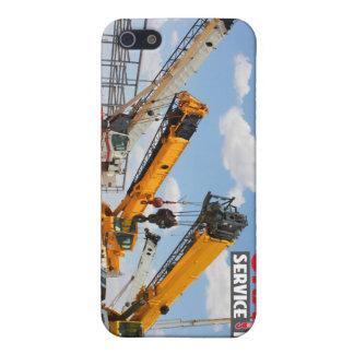 Rough Terrain Cranes iPhone 5 Cases