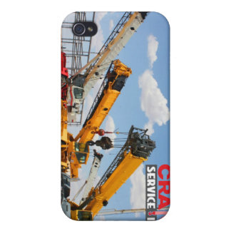 Rough Terrain Cranes Covers For iPhone 4