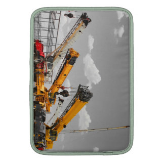 Rough Terrain Cranes Macbook Case MacBook Air Sleeves